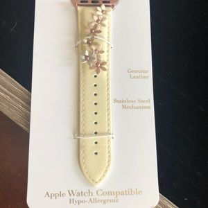 Charming Charlie Accessories - 38 mm Apple Watch compatible leather band